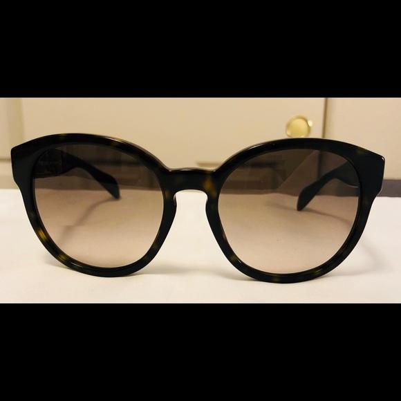 92d971b0cb0b ... ireland dark havana oversized prada sunglasses spr 18r 01853 5280c ...